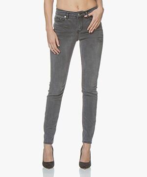 Drykorn Pull Lyocell Denim Skinny Jeans - Mid Grey