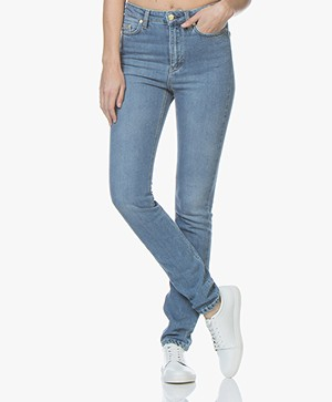 Filippa K Taylor Washed Jeans - Mid Blue