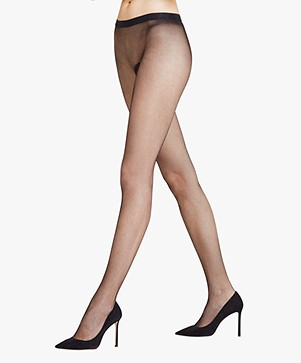 FALKE Netting Tights - Black