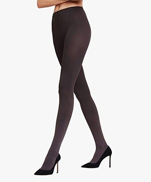 FALKE Pure Matt 100 Tights - Anthracite