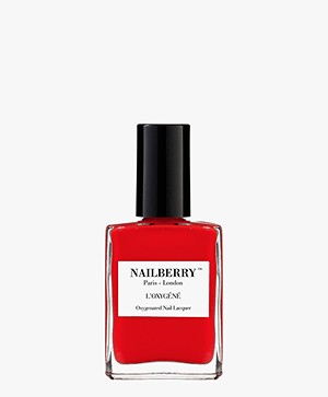 Nailberry L'oxygene Nail Polish - Cherry Chérie