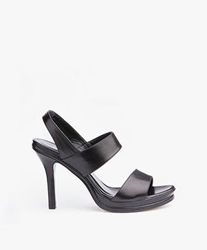 Panara Strappy Slingback Pumps - Black
