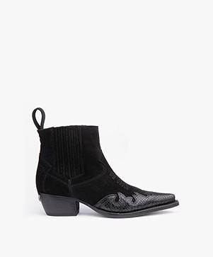 Zadig & Voltaire Erin Cut Boots - Zwart