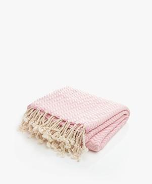 Bon Bini Hammam Towel Chikitu 180 cm x 90 cm - Pink