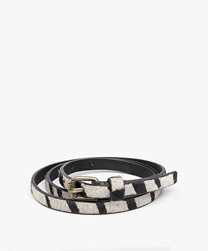 BY-BAR Animal Smalle Riem - Zebra