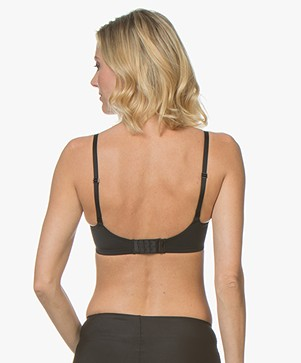 da0c7fd72c345 Calvin Klein Form Unlined Triangle Bra - Black - qf4777e 001