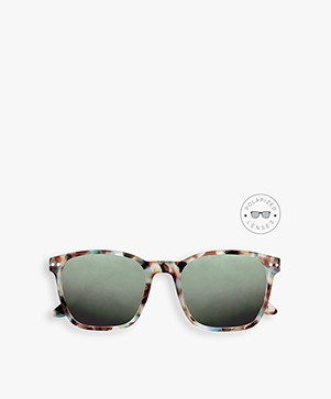 IZIPIZI Sun Nautic Polarized Sunglasses - Blue Tortoise/Green Lenses