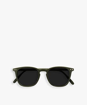 IZIPIZI SUN #E Sunglasses - Khaki/Grey Lenses