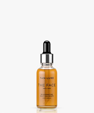 TAN-LUXE The Face Anti-Age Self-Tan Drops - Light/Medium 30ml