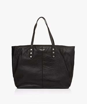 Zadig & Voltaire Mick Bubble Shopper - Zwart