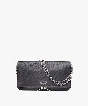 Zadig & Voltaire Rock Bubble Schoudertas/Clutch - Zwart