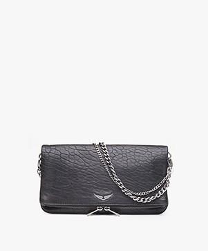 Zadig & Voltaire Rock Bubble Shoulder Bag/Clutch - Black