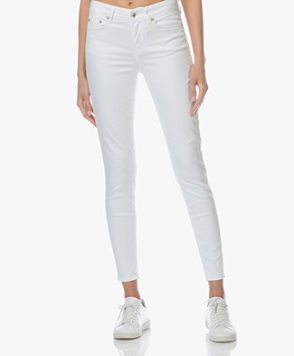 Drykorn Need Stretchy Slim-Fit Jeans - White