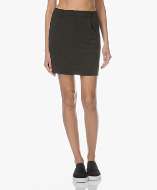 Filippa K Tailored Jersey Skirt - Black