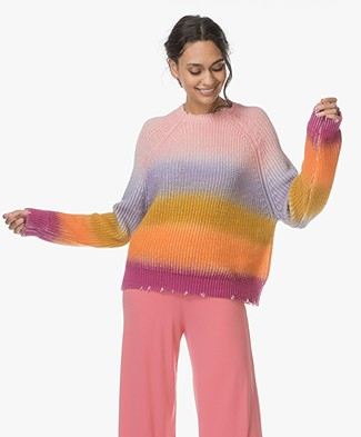 Zadig et Voltaire Kary Rainbow Sweater - Multicolor