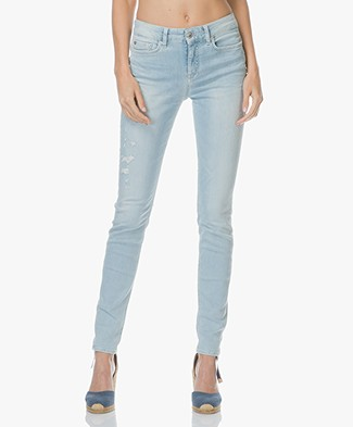 Drykorn Pull Skinny Jeans - Lichtblauw