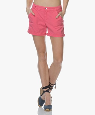 BOSS Sochily Cotton Shorts - Bright Pink