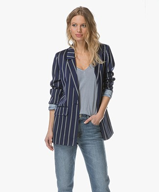 Closed Cox Striped Oversized Blazer - Worker