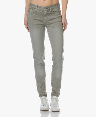 Repeat Skinny Jeans - Light Khaki