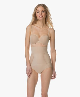 Calvin Klein Sculpted High-waist Shaping Slip - Bare