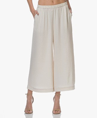 Filippa K Tara Pull-On Culottes - Bone