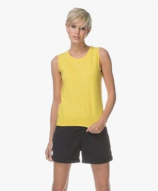 Josephine & Co Leticia Slipover with Cashmere - Yellow