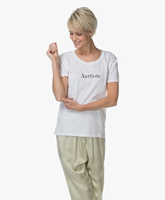 Vanessa Bruno Aartiste Cotton T-shirt - White