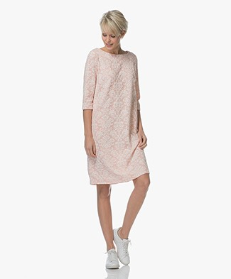 Josephine & Co Lieke Dress with Baroque Print - Light Pink