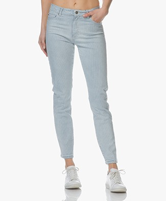 Boss Orange J21 Roseville Slim-fit Jeans - Light/Pastel Blue