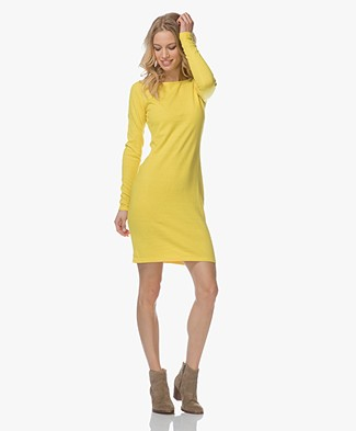 Josephine & Co Leone Knitted Dress - Yellow