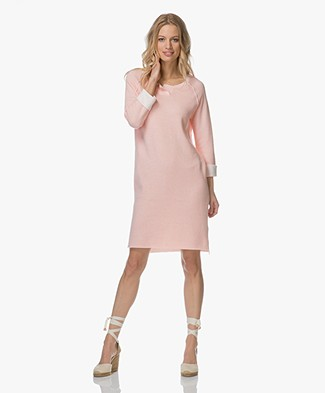 Josephine & Co Luisa Two-tone Tunic Dress - Light Pink