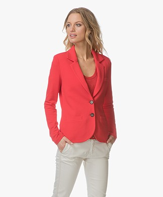 Repeat Jersey Blazer - Red