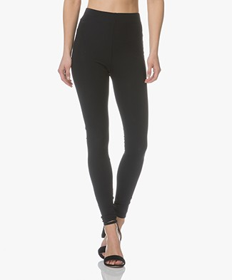 JapanTKY Haya Slim-fit Jersey Leggings - Black
