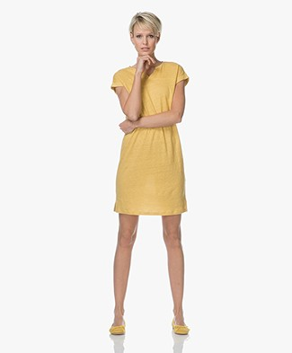 BY-BAR Hanna Linen T-shirt Dress - Picadilly