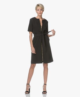 Baukjen Yasmine Dress with Zipper - Black