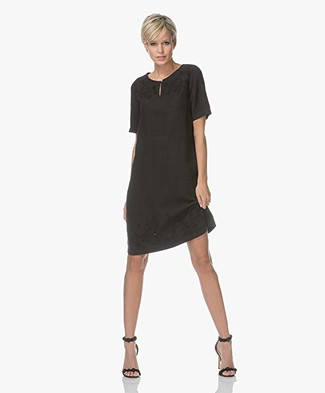 Belluna Bombay Linen Dress - Black