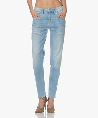 Drykorn Cushy Loose-fit Jeans - Lichtblauw