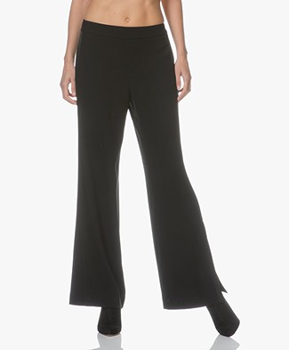 Filippa K Clare Wide Leg Pants - Black
