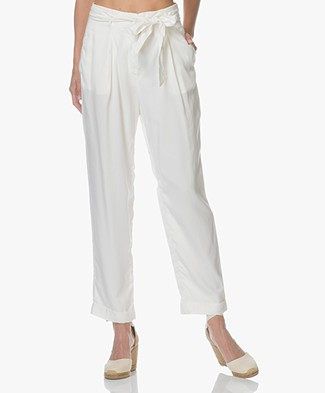Indi & Cold Lyocell Wide Leg Pants - Crudo