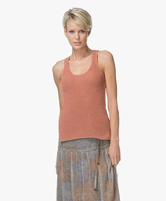 Indi & Cold Knit Tank Top - Teja