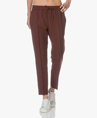 Joseph Lound Comfort Wool Pants - Morgon Red