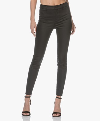 Drykorn Winch Stretchy Slim-Fit Trousers - Black