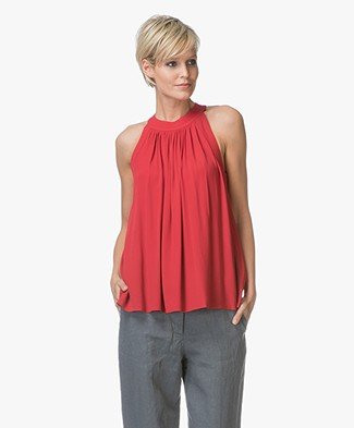 Filippa K Gather Top - Red