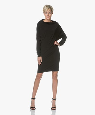 Norma Kamali All-in One Dress - Black