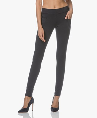 BRAEZ Liberta Jersey Slim-fit Broek - Midnight Blue