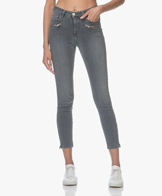 Closed Aimie Cropped Skinny Jeans - Authentic Grey Wash