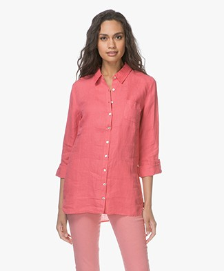 Belluna Fresh Linen Blouse - Peche
