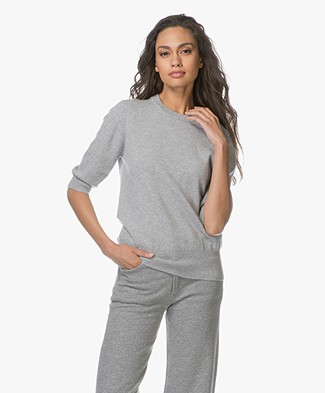 extreme cashmere n°63 Well Cashmere Pullover - Grey