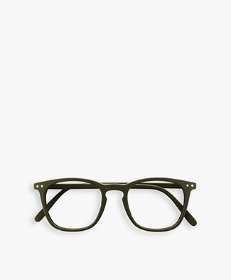 IZIPIZI  READING #E Reading Glasses - Kaki Green