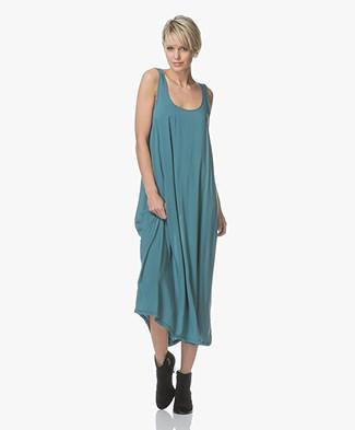 Leï 1984 Lison A-lijn Viscose Maxi-jurk - Emerald
